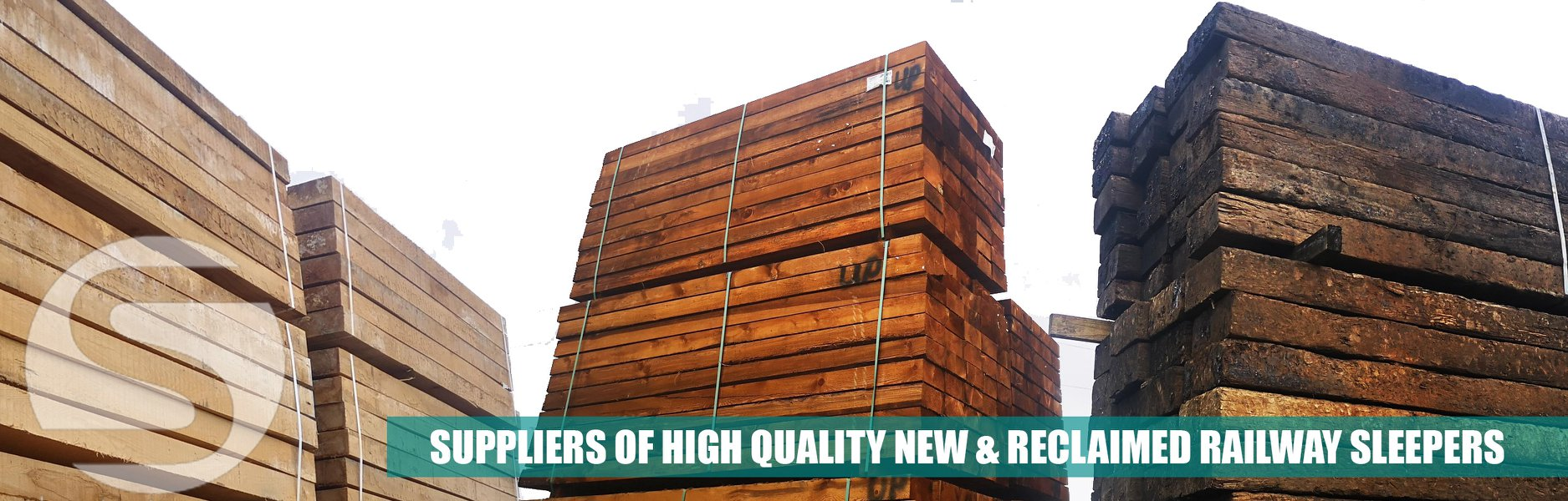 The Strata Group Ireland Railway Sleepers Timber Products